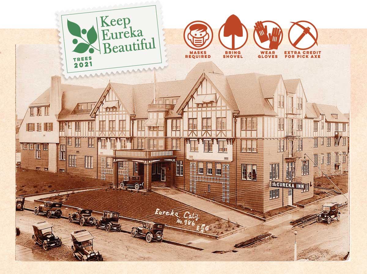 Historic Eureka Inn tree planting